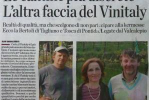 Eco di Bergamo - L'altra faccia del Vinitaly